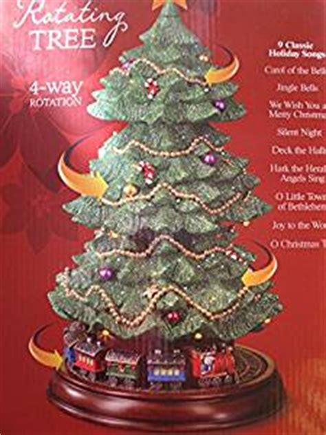 3 Fiber Optic Tabletop Christmas Tree by Cwc Fiber Optic Musical Rotating 15 2 Inch Christmas Tree