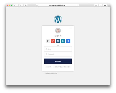 Wordpress Sign In wordpress single sign   auth 2348 x 1896 · png