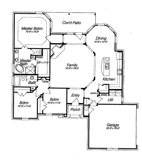 open floor house plans two best open floor house plans cottage house plans