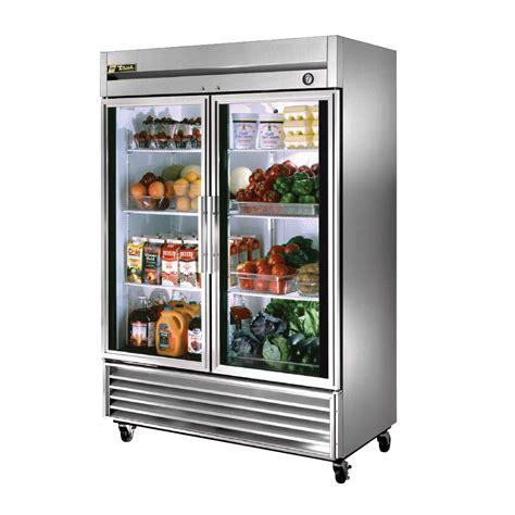 refrigerator with glass door true reach in glass door refrigerator