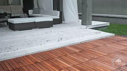 Deck Concrete Patio Tiles Decking Install Tile
