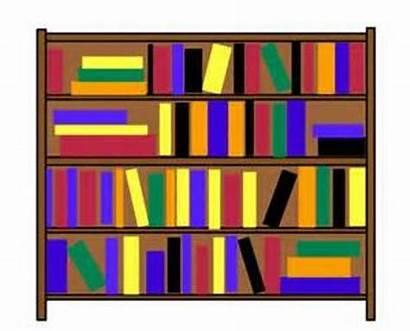 Shelf Clip Bookcase Clipart Bookshelf Books Classroom