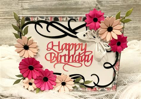 handmade birthday card designs featuring elizabeth craft