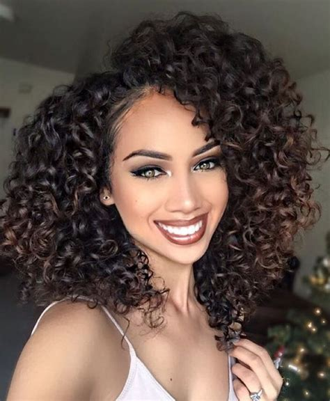 human hair wigs medium length curly hairstyles for african