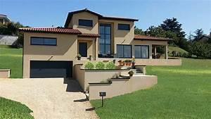 amazing plan maison terrain pente 10 la rt 2012 With plan maison terrain pente