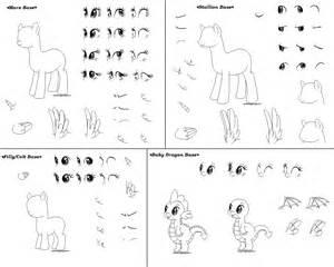 MLP Dragon Pony Base Stallion
