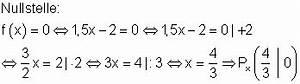 Achsenschnittpunkte Berechnen Quadratische Funktion : einf hrung lineare funktionen mathe brinkmann ~ Themetempest.com Abrechnung