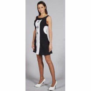 costume 6039s sixties robe noire et blanche deluxe femme With deguisement robe noire