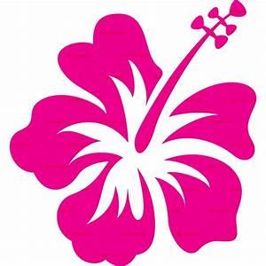 Cartoon Hibiscus Flower - Cliparts.co