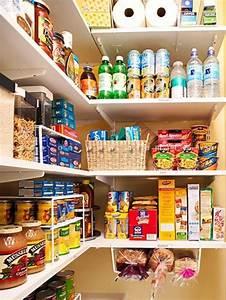 Etagere Pour Cellier : quelques dollars d 39 investissement pour un placard de cuisine et des armoires organis s au top ~ Preciouscoupons.com Idées de Décoration