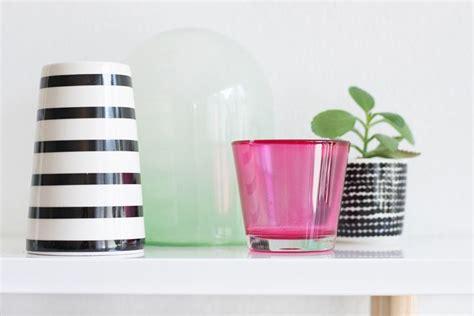Alte Lenschirme Aus Glas by Gastblogger Diy Glas Mit Lebensmittelfarbe Einf 228 Rben
