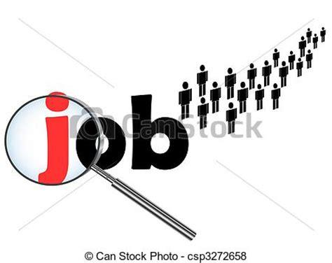 vector  unemployment theme illustration