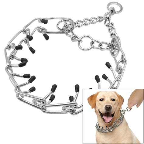 hunde wuergerhalsband dressurhalskette stachelhalsband