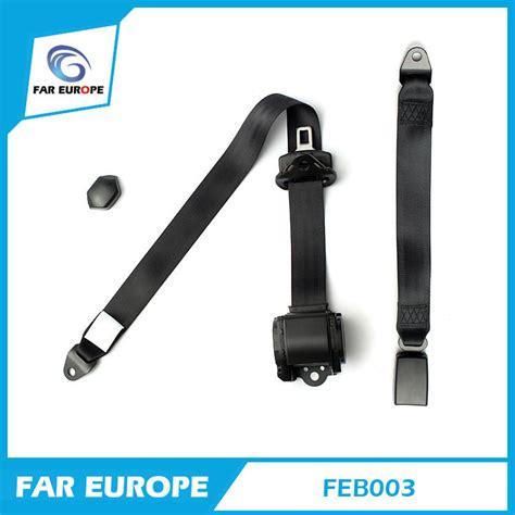 siege auto ceinture 2 points achetez en gros 2 point rétractable siège ceinture en