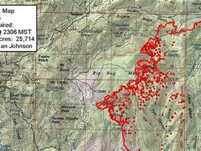 2017 Fire Update Map