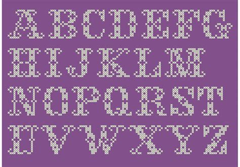 cross stitch alphabets     graph paper