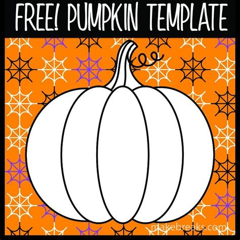 halloween  thanksgiving pumpkin template