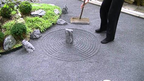 zen garden japanese rock meditation gardening asmr backyard incredible