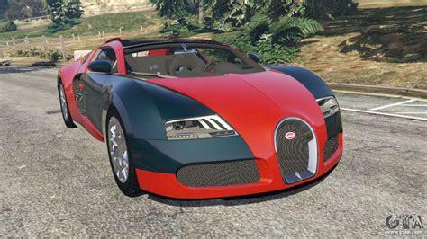 Gta 5 mods bugatti veyron super sport mod is here! Bugatti Veyron Grand Sport v3.3 for GTA 5