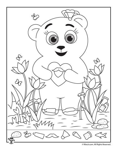 Valentine Teddy Dot To Dot