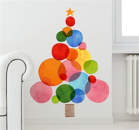 vinilo navidad 225 rbol de colores tenvinilo