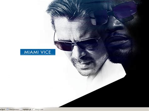Miami Vice Movie Wallpaper Free Hd Backgrounds Images Pictures