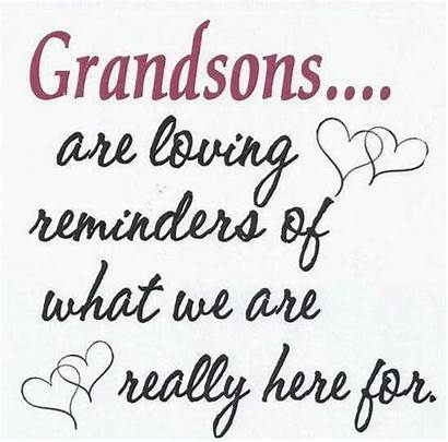Grandson Grandma Quotes Grandsons Grandmother Granddaughter Grandchildren