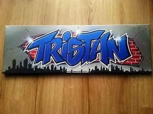 Toile Street Art : tableau toile graffiti tag personnalis e street art d co new ~ Teatrodelosmanantiales.com Idées de Décoration