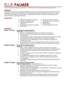 resume for hospitality sales unforgettable guest service representative resume exles to stand out myperfectresume