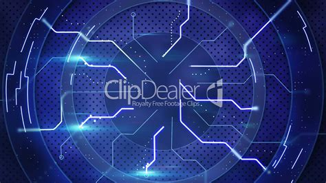 blue  tech abstract loopable background royalty