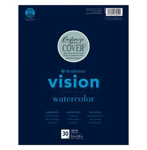 """Spectra's team has been prompt in managing our. Strathmore® Vision Watercolour Pad - 9"""" x 12"""" - Spectrum Nasco Educational Supplies"""