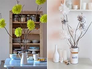 Blumen Aus Servietten Basteln : diy blumen pompoms ~ A.2002-acura-tl-radio.info Haus und Dekorationen