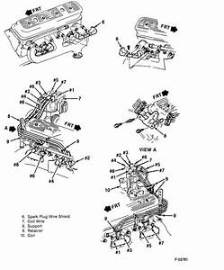 How To Check The Fireing Order For 1989 Fwd Chev 1500 Distributor Cap