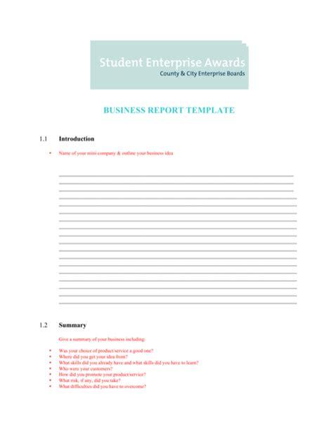 financial report template   formtemplate