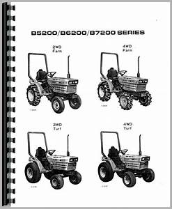 Kubota B5200e Tractor Operators Manual