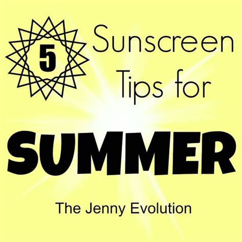 5 Sunscreen Tips for Summer | Kids and parenting, Summer ...