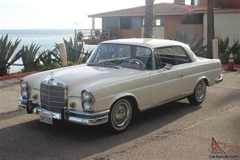 1966 Mercedes Benz 250se Coupe In Excellent Condition