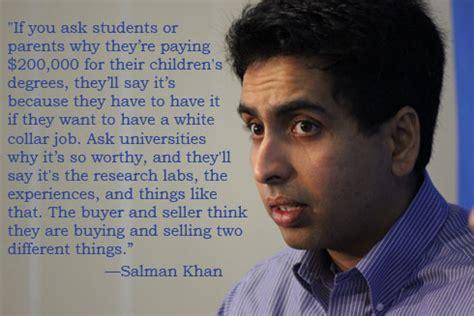 salman khan  higher education  aspen institute