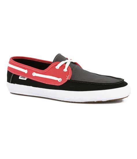 Vans Boat Shoes All Black by Vans Mens Chauffeur 3 Tone Comfort Boat Shoes Mens