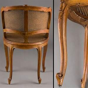 Fauteuil De Style : petit fauteuil de bureau cann style louis xv 240909 expertissim ~ Teatrodelosmanantiales.com Idées de Décoration