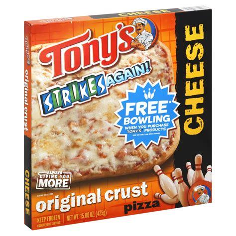 Tony's Pizza, Original Crust, Cheese, 15 oz (425 g) - Food ...