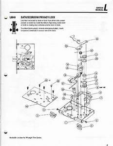Schlage L9080el Locks Service Manual Pdf View  Download