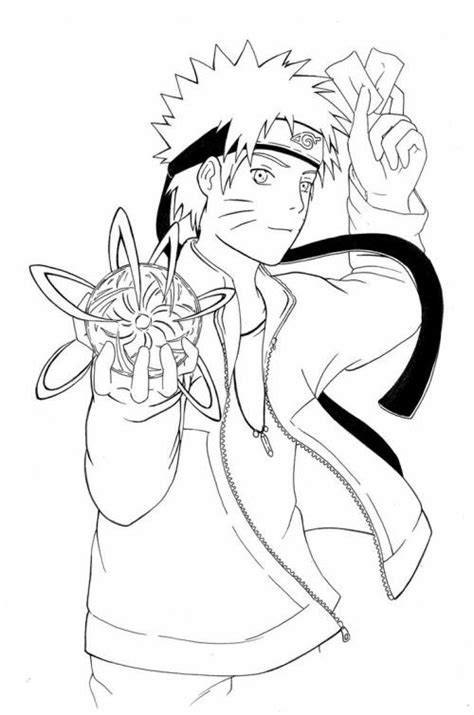 naruto coloring pages images  pinterest