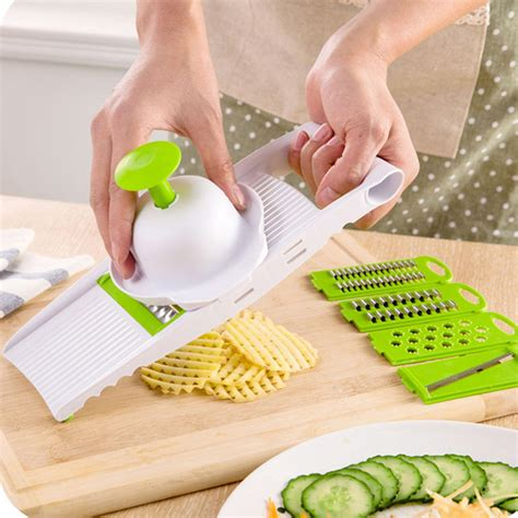 mandoline cuisine multi mandoline vegetable slicer grater kitchen set