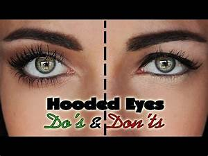 Hooded Eyes Makeup Tips and Tricks For Droopy Eyelids