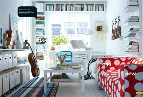 ikea white living area