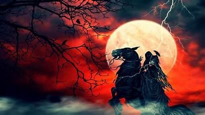 Reaper Grim Dark Wallpapers Desktop Pc Horse