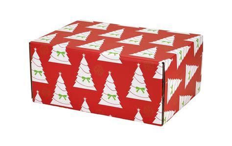 christmas trees decorative shipping boxes boxandwrapcom