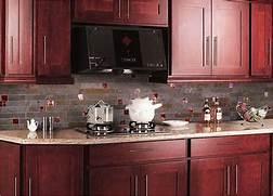 Delectable White Kitchen Cabinets Slate Floor Gallery Cherry Cabinet Granite Countertop Slate Glass Kitchen Backsplash Tile