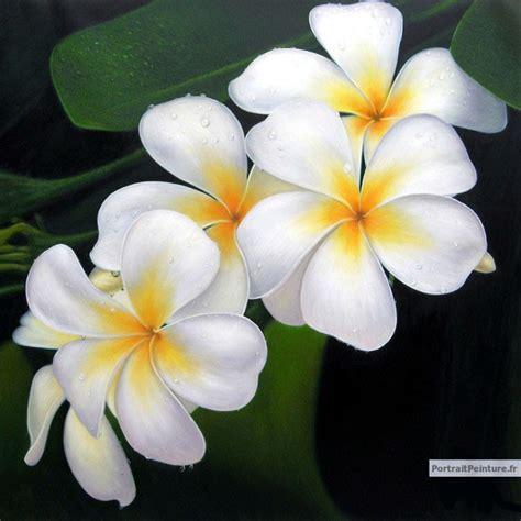 peinture de fleurs fleurs en peinture portrait de